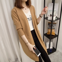 Long Cardigan Female 2018 Autumn Winter Women Long Sleeve Cardigan Sweater Knitted Cardigans For Women Sweater NS4054