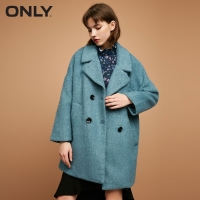 ONLY  Women's Winter Double-breasted woolen Coat |11734S505