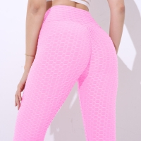 Women Push Up Leggings Sexy High Waist Elastic Knitted Spandex Leggings Femme Fitness Workout Jeggings Legging Women Pants