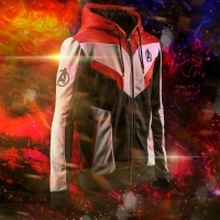 Marvel The Avengers 4 Endgame Quantum Realm Spiderman Cosplay Costume Hoodies Unisex Avengers Zipper End Game Sweatshirt Jacket