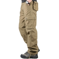 Overalls Men Cargo Pants Casual Multi Pockets Military Track Tactical Pants Pantalon Hombre Mens Sweatpants Straight Trousers