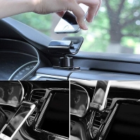 New Arrivals  Magnetic Style Pop Out Phone Grip And Stand Holder Gravity Sensing Car Phone Mount 45#