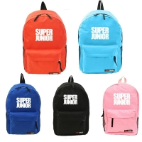 Youpop KPOP Super Junior SJ Album Nylon Bag Jewelry Admission Package K-POP New Fashion Backpack Cosmetic Bags SJB413