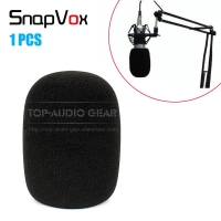Windscreen Sponge Microphone Cover Mike Windproof Foam For AKG Perception P 120 220 420 820 Tube Mic Windshield Pop Filter