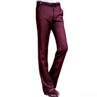 2019 New Flared pants Men's Spring and Autumn Slim Korean trousers British Casual non-iron waist trousers More size 29-37