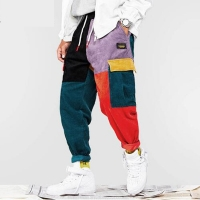 Hip Hip Pants Vintage Color Harajuku Jogger Sweatpant Cotton Trousers 2018 EM007