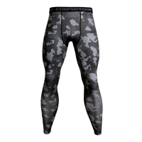 3D Camo Joggers For Men Sweatpants Quick Dry Bodybuilding Compression Pants Men Fitness Tights MMA Gyms Leggings Mens Trousers