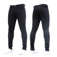 NIBESSER mens brand Skinny jeans Pant Casual Trousers 2019 denim black jeans homme stretch pencil Pants Plus Size streetwear 3XL