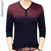 2019 designer pullover striped men sweater mensthin jersey knitted sweaters mens wear slim fit knitwear fashion clothing 10038