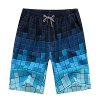 MoneRffi Men Swimwear Beach Board Short Quick Dry Casual Short Sports Running Sports Surffing Short Plus Size 4XL Swimsuit Boxes