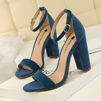 BIGTREE Shoes High Heels Sexy Women Pumps Wedding Shoes Women Heels Summer Ladies Shoes Female Fashion Open Toe Sandals Stiletto