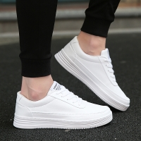 Big Size 36-47 Sneakers for Men Vulcanized Shoes Simple Round Toe Casual Shoes Mens White Daily Footwear Male Fashion Walkerpeak