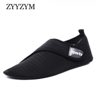 ZYYZYM Soft Strech Fabric Wading Men Shoes Unisex Summer Waterproof Water Shoes Ventilation Beach Shoes Women Fitness Shoes