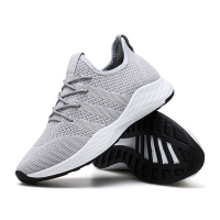 2019 Spring New Large Size Men's Shoes Trend Flying Sneakers Men's Casual Running Shoes Mesh Shoes Men Chaussure Homme