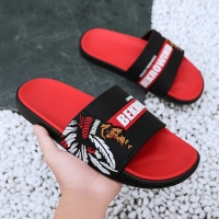 New Summer Men's Slippers 2020 Fashion Outdoor Slides Indoor Non-slip Slippers Beach flip flops Personalized men slippers 40-45