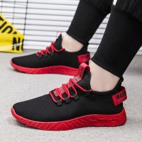 HEFLASHOR Men Sneakers Breathable Casual No-slip Men Vulcanize Shoes Male Air Mesh Lace up Wear-resistant Shoes tenis masculino