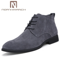 NORTHMARCH High Quality Cow Suede Chelsea Boots Men Italian Brand Ankle Boots Men Fashion Men Leather Dress Shoes Bottine Homme