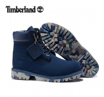 TIMBERLAND Men Brand New 10061 Military Camouflage Outdoor Martin Boots,Man high-top Leather Ankle Dark Blue Casual Shoes 40-45