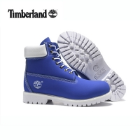 TIMBERLAND Men 10061 Sky Blue White Male Motorcycle Martin Ankle Army Boots,Men's Outdoor Leather Street Casual Shoes 40-45