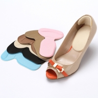 1 pair Orthopedic Insole Brand New T-Shape Silicone Non Slip Cushion Foot Heel Protector Liner Shoe Insole Pads