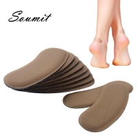 5 Pairs Sponge Invisible Back Heel Pads for High Heels Shoes Grip Adhesive Liner Foot Care Cushion Insert Shoe Pads Insoles