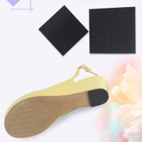 1 Pair Black Insole Sticker High Heel Women Shoes Non Slip Tape Black Cuttable Lady Protective Anti Skid Sole S/L