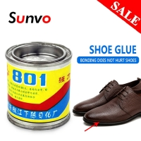 Sunvo Shoe Waterproof Glue Strong Super Glue Liquid  Leather Rubber for Fabric Repair Universal Shoes Adhesive Care  Tool Glue
