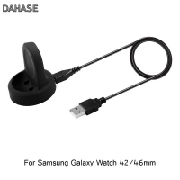 Portable Wireless Charging Cradle Charger For Samsung Galaxy Watch 42mm 46mm Power Source Charger SM-R800 R805 R810 R815