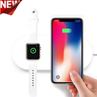 charger For Apple Watch 4/3/2 Iphone X 8 8 plus Samsung Galaxy S9 S8 wireless charging for Iwatch 42mm/38mm/40mm/44mm