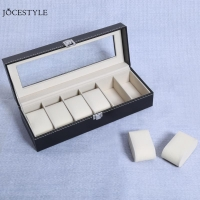 2/6/10 /12Grids PU Leather Watch Box Clock Watches Jewelry Storage Boxes for Professional Holder Organizer Case Display