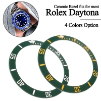 4 Types 38mm Black Blue Green Ceramic Bezel Insert For 40mm Submariner Mens Watch Watches Replace Accessories Watch Face New