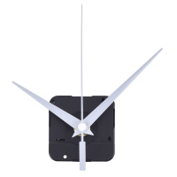 DIY High Torque Clock Mechanism, 3/ 10 Inch Maximum Dial Thickness, 4/ 5 Inch Total Shaft Length (White)