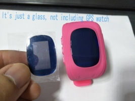 Watches Glass for GPS tracker watches Q50 screen glass mirror sapphire material