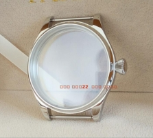 parnis 44MM 316L stainless steel watch case fit 6497/6498 Mechanical Hand Wind movement 04a