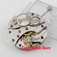 PARNIS watch movement 17 Jewels mechanical Asia 6497 Hand-Winding movement fit for men's watch wrist watch men M12