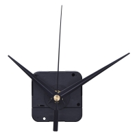 DIY High Torque Clock Mechanism, 3/ 10 Inch Maximum Dial Thickness, 4/ 5 Inch Total Shaft Length (Black)