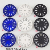 2018 New Arrival 33MM BLIGER Sterile Dial Date Window Luminous Marks Fit for ETA 2824 2836 MIYOTA 8215 821A Movement Watch Dial