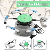 US Standard 110V-220V Professional Watch Winders Automic-Test Cyclotest Watches Tester Watch Test Machine Six Watches Position