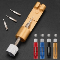 6.2cm Watch Adjuster Metal Belt Band Bracelet Strap Pin Remover Repair With 3pcs Pins 4 Color