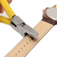 Watch Tools Universal 2mm Round Leather Belt Watch Band Hole Puncher Plier horloge gereedschap Jewelry watch tool ремонт часов