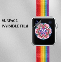 Hydrogel Film For Apple Watch Series 4 40mm 44mm Soft Full Coverage Screen Protective Film For Iphone Watch 3 38mm 42mm