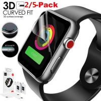 5PC Ultra-thin 3D Hydrogel Film Anti-Shock Coverage Protective Screen Protector Film For Apple Watch 1/2/3 For iWatch 38mm 42mm