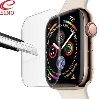 EIMO Screen Protector Film for Apple Watch 4 Iwatch band 44mm 40mm TPU 9D Anti-Shock waterproof Full Coverage Protective Film