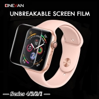 Clear Screen Protector Full Coverage Protective Film for Apple Watch 3 2 1 38MM 42MM Not Tempered Glass for iWatch 5 4 40MM 44MM