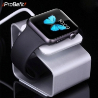 ProBefit Aluminium Metal Watch Stand Holder for iWatch 4 Station Bracket for Apple Watch 4 3 2 1 Accessories 38MM 42MM 44MM 40MM