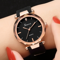 Ladies Watch Luxury Bracelet Fashion Women's Dress Womens Watches Geneva Silica Analog Quartz Watch Jewelry montre femme L58