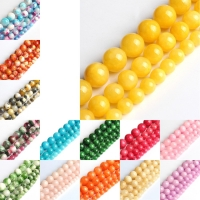 Natural  Stone Beads Free Shipping Colorful Cloud Jade DIY Hand made Fine jewelry Accessory  gemstone Beads Accessory