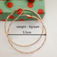 1pair Simple Goldcolo Big Hoop Earring For Women Statement Fashion Jewelry Accessories Large Circle Round Earrings free shipping
