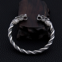 stainless steel Dragon Bracelet Jewelry Fashion Accessories Viking Bracelet Men Wristband Cuff Bracelets For Women Bangles