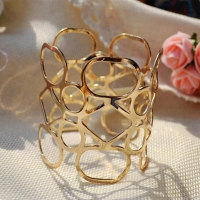 Women Fashion Jewelry Punk Metal Opening Bracelets  0ut Cuff Bangle Bracelets For Women Girls Gifts